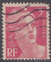 France 540 Hinged Used 1946 Marianne