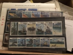Beautiful International Stamp Lot Full of Very Nice Glass Scenes