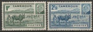 Cameroun 1941 Sc 281A-B Yt 200-1 set MNH**