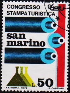 San Marino.1973 50L S.G.962 Fine Used