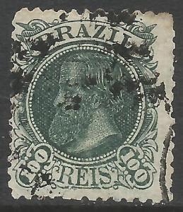 BRAZIL 83 VFU TYPE I DOM PEDRO Z7659