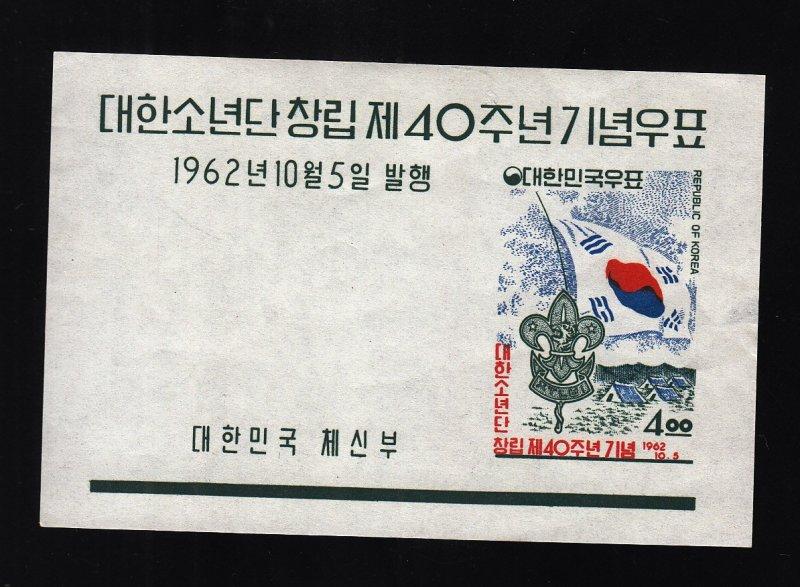 Korea: Sc #358a, S/S, MNH, Imperf (S18271)
