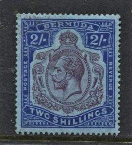 STAMP STATION PERTH Bermuda #94 KGV MLH - Wmk.3 CV$65.00 - Beauty
