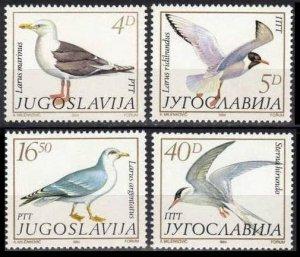 1984 Yugoslavia 2055-2058 Birds 6,00 €