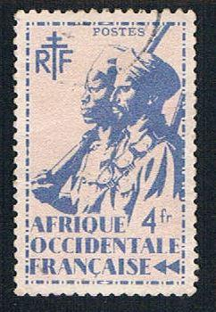 French West Africa 30 MLH Colonial Soldier (BP1026)