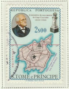 Portugal ST. THOMAS AND PRINCE ISLANDS 1969 2$50 Used A6P25F97