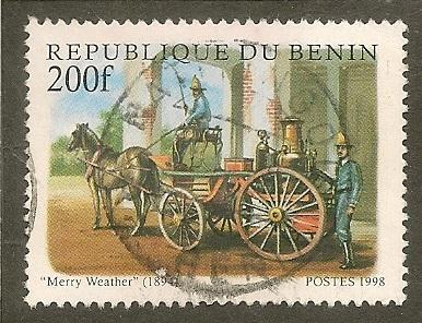 Benin    Scott  1064   Firefighting     Used