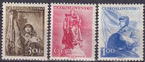 Czechoslovakia #744-6  MNH CV $6.00 (Z4106)