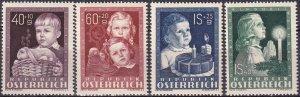 Austria #B260-3  MNH CV $64.00 (Z3037)