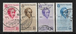 COLLECTION LOT #380 ITALY # 349-52 1935  CV+$40