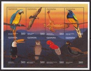 Guyana, Fauna, Birds / MNH / 1996