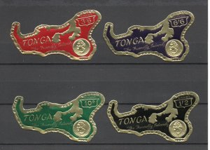 Tonga C7-C10 MNH .