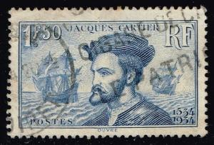 France #297 Jacques Cartier; Used (4.25)