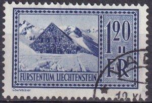 Liechtenstein  #128  F-VF Used   CV $32.00 (Z3169)