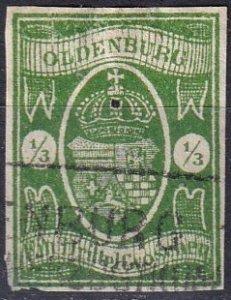 Oldenburg #10 F-VF Used CV $875.00 (Z7134)