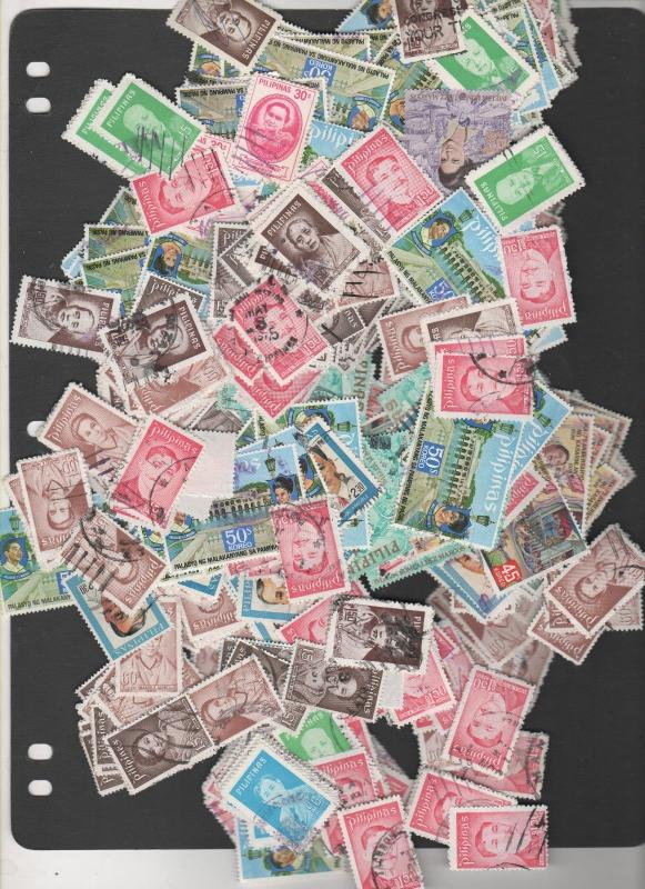 PHILIPPINES STAMPS SHOW DEALER CLOSEOUT LOT  50 grams 454 0919