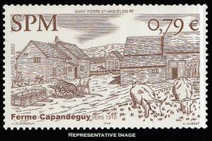 Saint Pierre & Miquelon Scott 751 Mint never hinged.