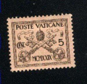 Vatican City #1   Mint  VF  1929 PD