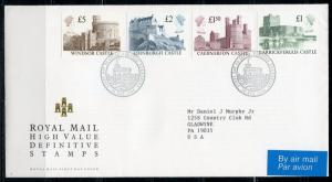GREAT BRITAIN 1988  CASTLE  DEFINITIVE FIRST DAY COVER