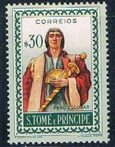 St Thomas and Prince person - pickastamp (SP19R306)