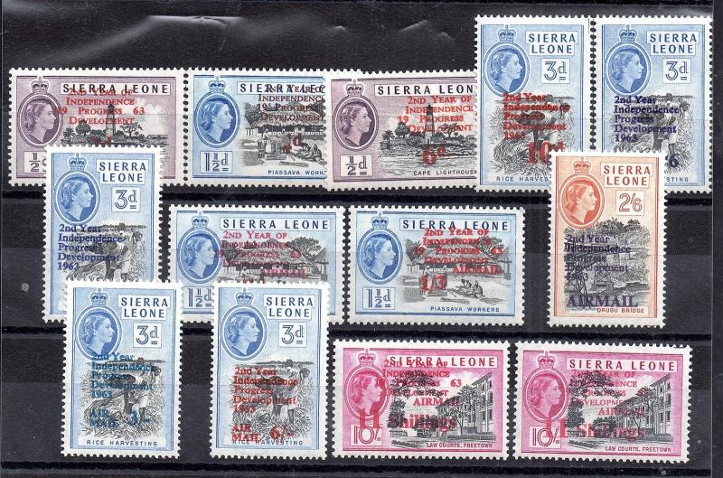 Sierra Leone 1963 Independence mint MH set WS3551