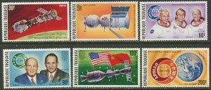 TOGO Sc#913, C254-8, C258a 1975 Apollo-Soyuz Project Set & S/S Complete OG MNH