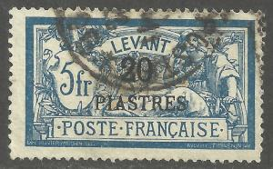 FRENCH OFFICES-TURKEY-LEVANT SCOTT 38
