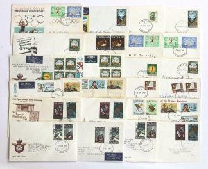 New Zealand Covers, FDC's etc. All scanned for viewing