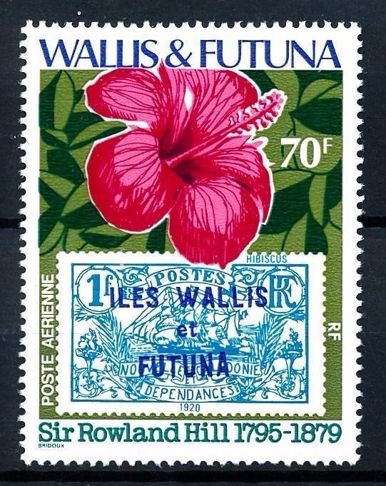 61991 Wallis Et Futuna 1979 Flora Flowers Blumen Fleur From Set Mnh