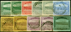 Dominica 1906-20 Set of 11 to 1s SG47a-53 Fine Used