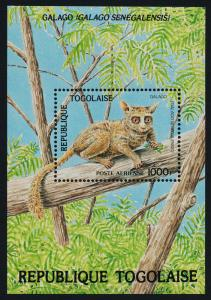 Togo 1246 MNH Animals, Galago, Bushbaby