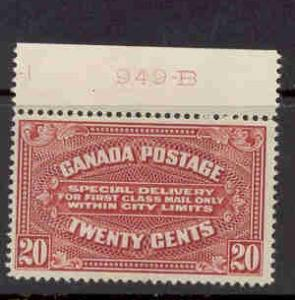 Canada Sc E2 1922 20c  Special Delivery stamp mint
