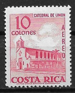 1967 Costa Rica C471 Limon Cathedral  MVLH
