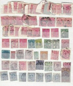 MIXED  AUSTRALIA  EARLY STAMPS UNCHECKED  R 2273