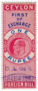 (I.B) Ceylon Revenue : Foreign Bill 1R (First)