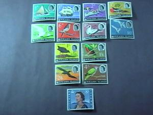 PITCAIRN ISLANDS# 39-51-MINT NEVER/HINGED-COMPLETE SET---QEII----1964-65