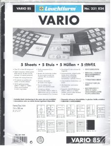Lighthouse Vario 8S Stock Pages #331824 Ret $5.85