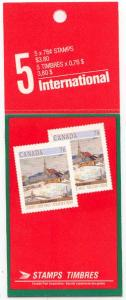 Canada - 1989 76c Christmas Booklet #BK109
