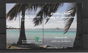 COOK ISLANDS MNH SOUV. SHEET SC#1342 CHINA 2010 EXPO SCV$9.75 VERY NICE SHEET