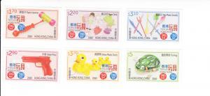 2016 Hong Kong Classic Toys 1940s - 1960s (6) (Scott 1777-82) MNH