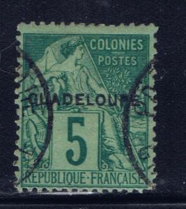 Guadeloupe 17 Used 1891 Used