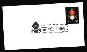 US 5302 The Art of Magic Crystal Ball Prediction BWP FDC 2018