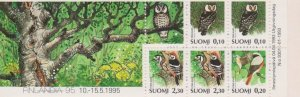 Finland 1993 #859a MNH. Birds, booklet