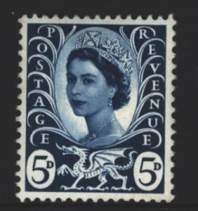Wales and Monmouthshire Sc#11 MNH