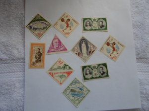 MONACO STAMPS LOT. 9 stamps # 10