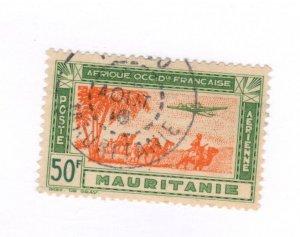 Mauritania #C13 Used - Stamp CAT VALUE $3.25