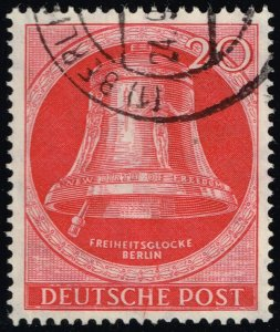 Germany #9N72 Freedom Bell; Used (4Stars)