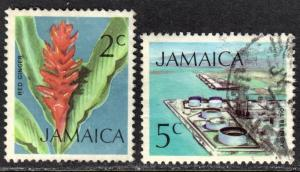 Jamaica Scott 344, 347  F to VF used.