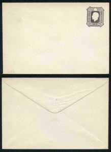 ES50 KGV 9d Dark Brown Envelope Stamped to Order Mint SCARCE