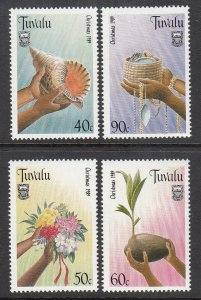 Tuvalu 529-532 MNH VF